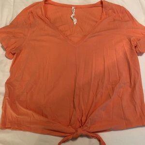 Lululemon Short Sleeved Shirt